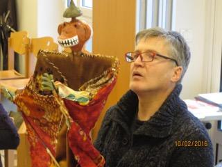 Colloques internationaux : conférence avec Marionnette et thérapie